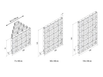 Treillis GE coffrage modulaire micte manuportable